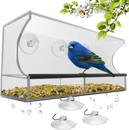 birdfeeder window